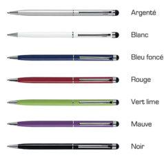 """Modèle """"TOUCH"""" du stylo bille tactile"""