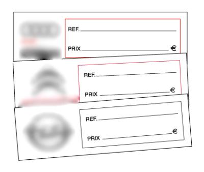 Étiquette-PVC-rigide