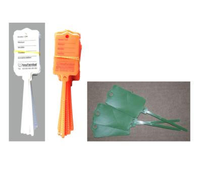 Étiquette porte-clés neutre ou imprimée