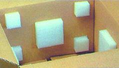 Découvrez notre Plot en mousse adhesif ou non, ici vous pouvez les voir coller à l'intérieur d'un carton.