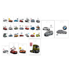 Sacs AUTO Imprimés Standards en qualité très fiable, sacs multi-usages les plus utilisés dans les concessions automobiles.