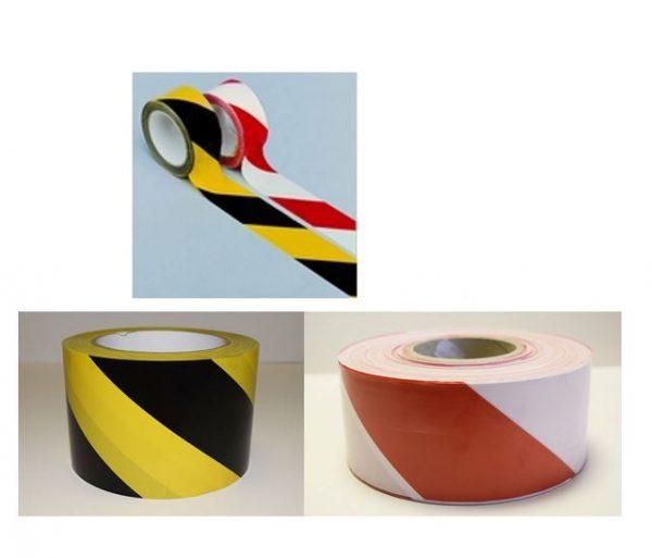 Adhésifs PVC plastifiés rayés