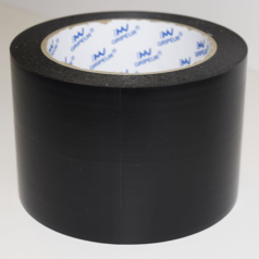 Ruban-PVC-plastifié-noir