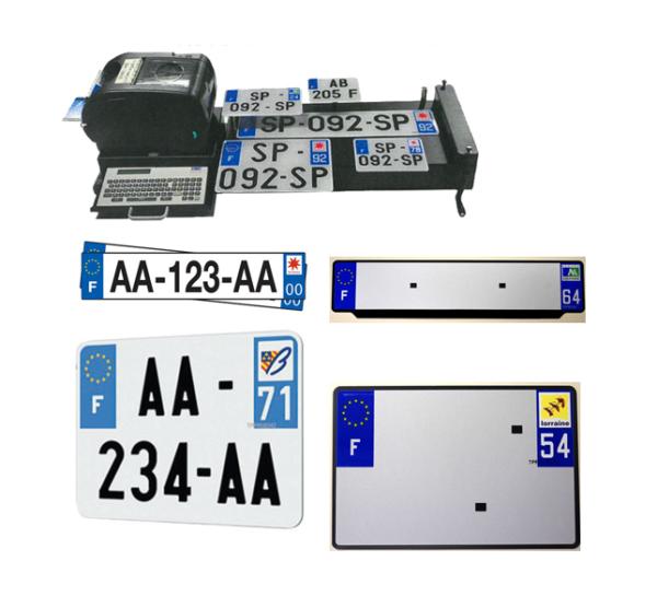 Plaques-d'immatriculation-aluminium