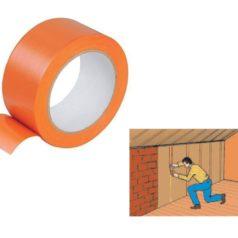 Rouleau PVC orange pare-vapeur