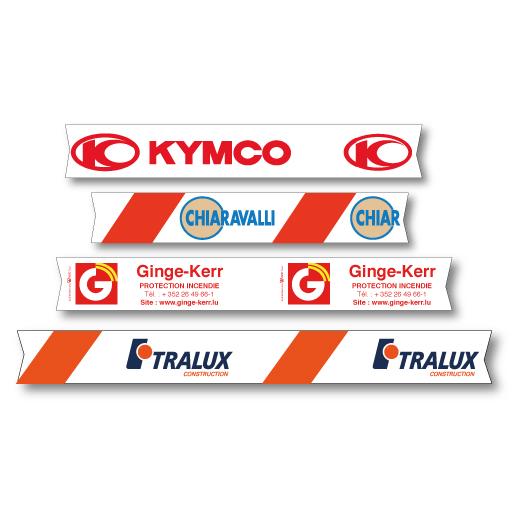 Banderoles de signalisation personnalisées