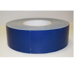 Voici le ruban adhésif toilé plastifié, ici il est de couleur bleu.