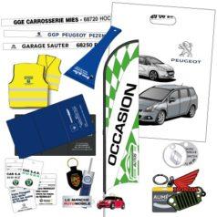 Objets publicitaires automobile