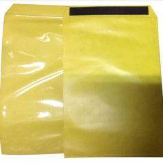 Découvrez notre pochette magnetique. Ici se trouvent deux pochettes magnetiques jaunes.