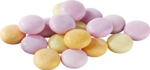 Dragées Mentos Classic Mint ou Mentos Classic Fruit Mix, (fraise, orange, citron), DLUO env. 18 mois, 22 g