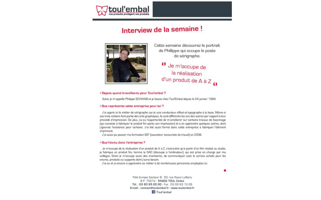 Interview de notre sérigraphe : Philippe