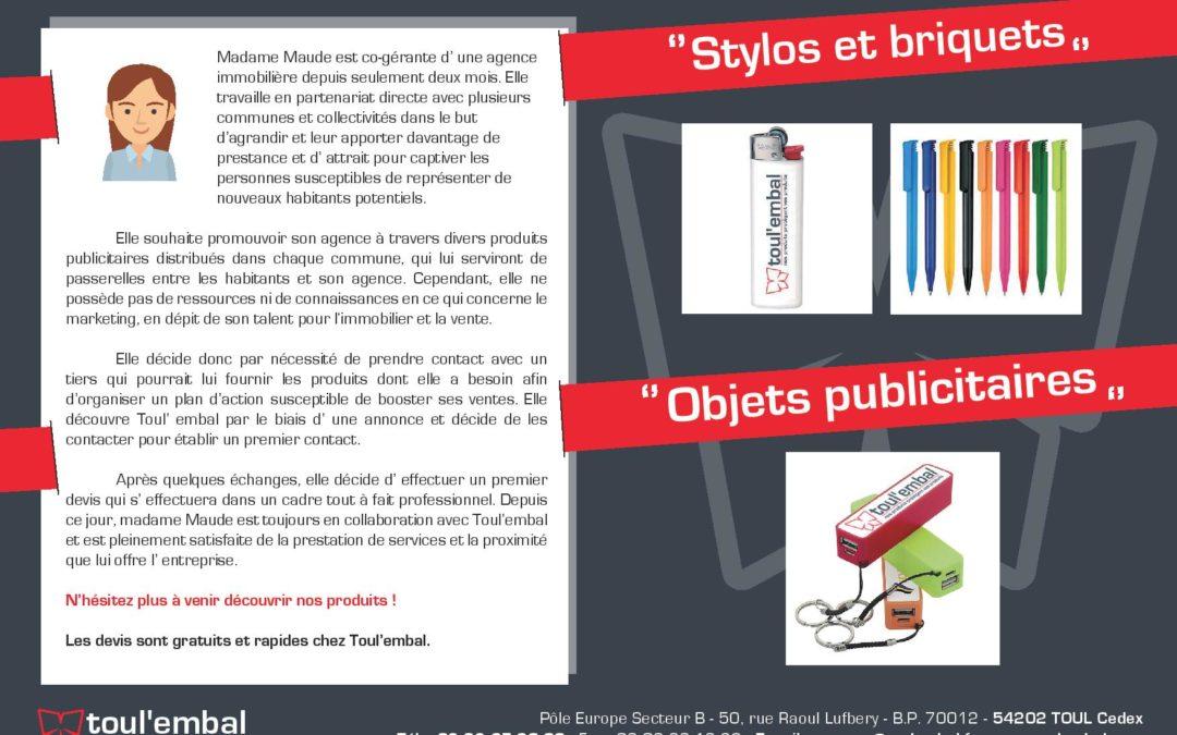 Expérience client n°17 : Stylos et briquets