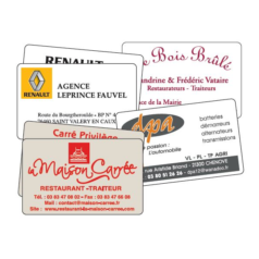 Carte Commerciales