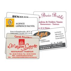 Carte Commerciales