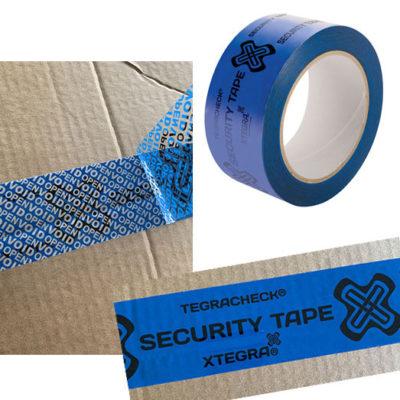 Ruban de sécurité bleu