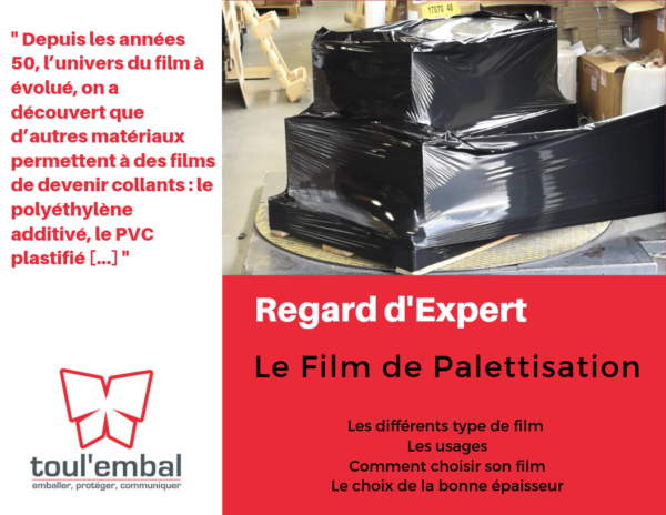 REGARD D'EXPERT – LE FILM DE PALETTISATION