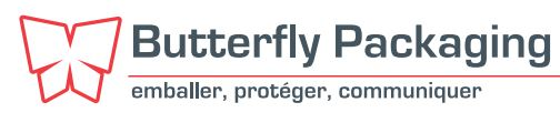 Logo du groupe ButterFly Packaging constitué de la société Toul'Embal et Cabapack.