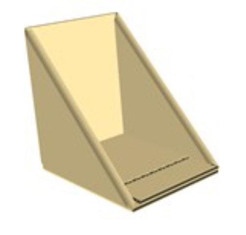 CORNIÈRE D'ANGLE DE PROTECTION EN CARTON Elle est fabriquée en carton kraft, avec une cannelure B, celle-ci est donc légère, pratique et rapide à poser.