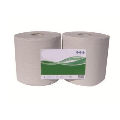 Bobine de papier blanc