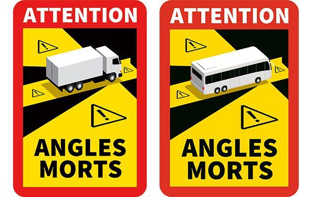 Le Saviez-vous ? – Les autocollants angles morts VL ( PL et Bus )